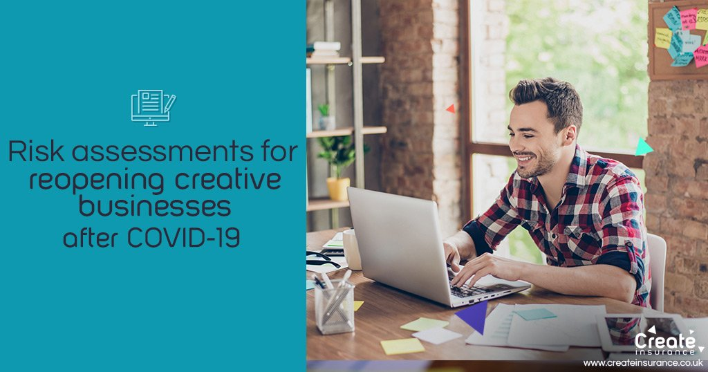 COVID risk assessments for creatives