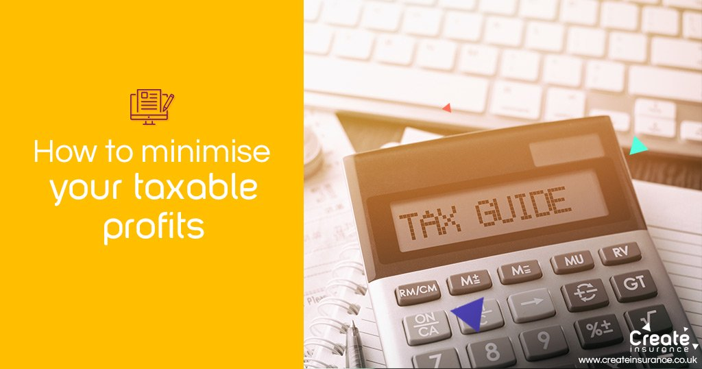 How to minimise taxable profits