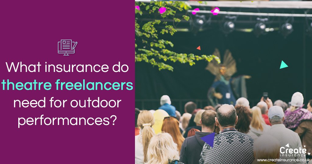 theatre freelancers outdoor insurance