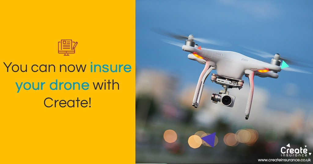 Insure your drone